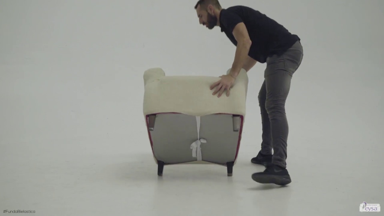 Niewiarygodnie Elastyczny pokrowiec na fotel - YouTube ZZ31