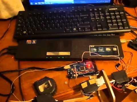 Proyecto kinect , arduino, robotica
