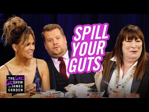 Spill Your Guts or Fill Your Guts w Halle Berry & Anjelica Huston