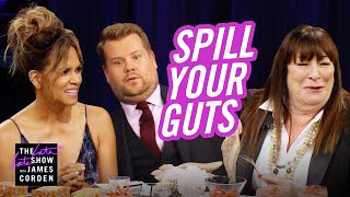 Spill Your Guts or Fill Your Guts w/ Halle Berry & Anjelica ...