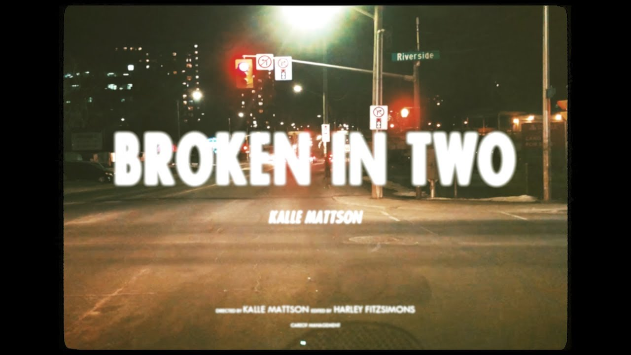 video: Broken In Two (Official Lyric Video)