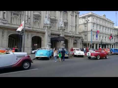 Havanna. Gran Teatro de La Habana ees.