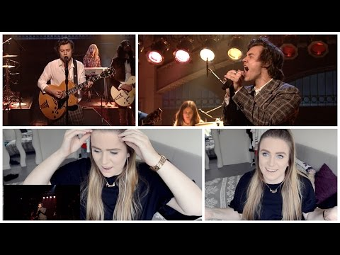 Thumbnail: REACTION: HARRY STYLES - SNL PERFORMANCES! (EVER SINCE NEW YORK & SIGN OF THE TIMES)