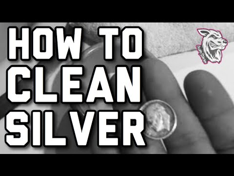 How To Clean Silver And Gold Coins - Best And Easiest Way!
