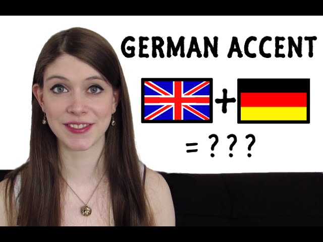 How to do a GERMAN ACCENT? #1