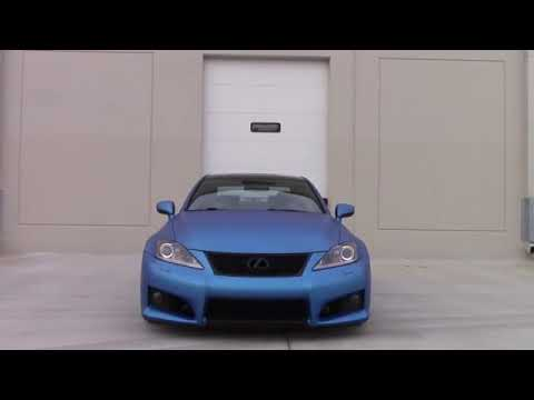 Lexus IS F The\' Japanese Muscle Car