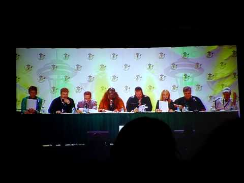Download Youtube: Voice Actors reading Star Wars script panel clip 1