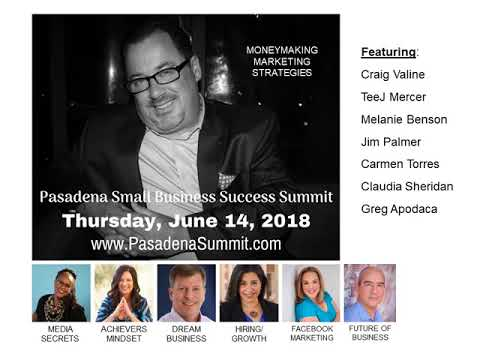 Sponsor Opportunities | Pasadena Small Business Success Summit 2018