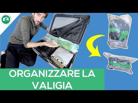 Organizzare lo Spazio in Valigia (Compactor Travel Tips)