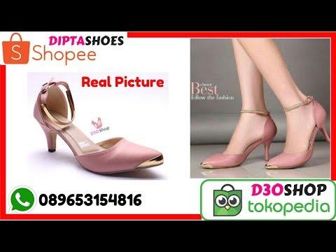 Jual Sepatu Kerja Wanita High Heels Pantofel Murah Berkualias | Sepatu Kerja Wanita 089653134816