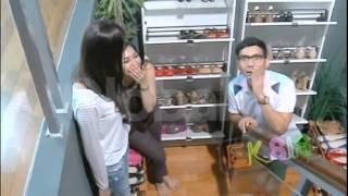 Wah Syahnaz Sadiqa Sering Rebutan Sepatu Sama Mama Amy