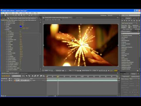 Introduction to particleIllusion for After Effects (Windows version)