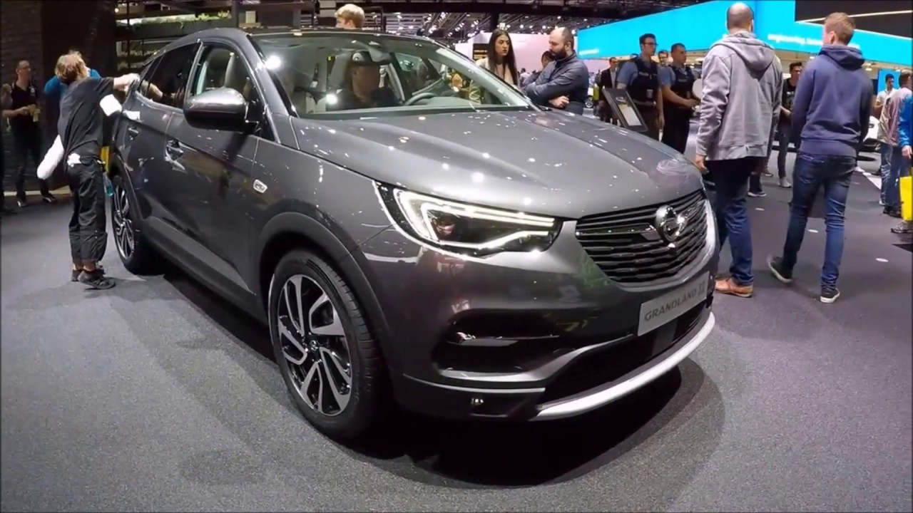 opel grandland x innovation new model compact suv i grey colour walkaround interior. Black Bedroom Furniture Sets. Home Design Ideas