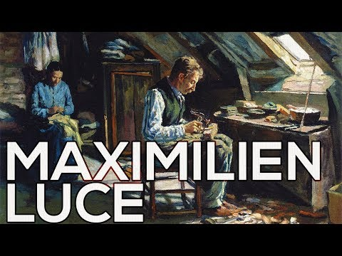 Maximilien Luce: A collection of 496 paintings (HD)