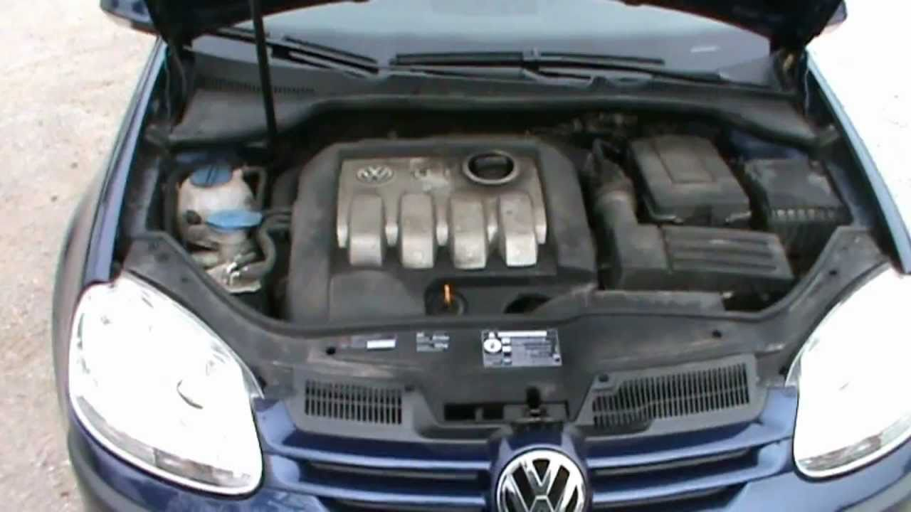 VW Golf Trendline 1.9 TDI Full Review,Start Up, Engine, and In Depth Tour - YouTube