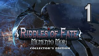 Riddles Of Fate 3: Memento Mori CE [01] w/YourGibs - DEATH NEEDS HELP CLEANING UP - OPENING - Part 1