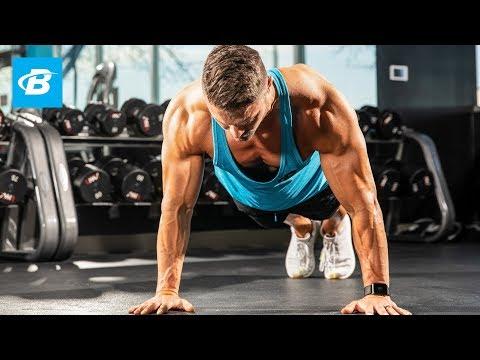 Upper Body Push Workout | Mike Hildebrandt