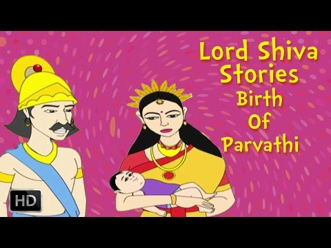 Lord Shiva And Parvati Stories - Birth Of Parvathi - Animated Mythological Story