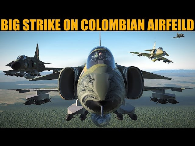 Colombia Campaign: DAY 2 LIGHTNING Strike On Hostile Airfield | DCS WORLD