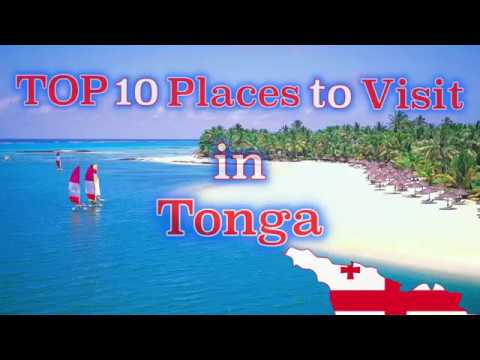 TOP 10 Places to Visit in Tonga