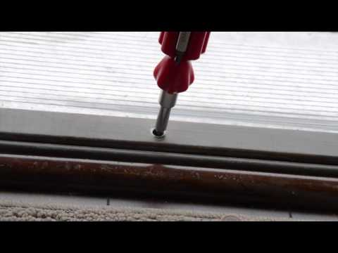 Sego Minute Maintenance - Adjusting Door Threshold