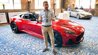 NEW Aston Martin DBS Superleggera FIRST LOOK Featuring Matt Becker!
