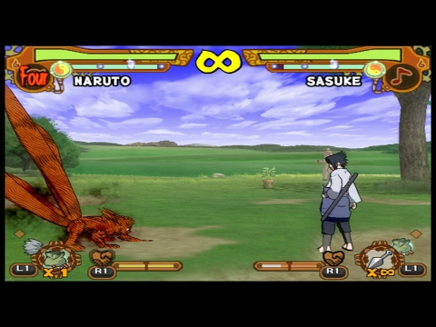 (LIVE)Naruto Ultimate Ninja 5 (PS2) - DESAFIOS HARD CORE!!