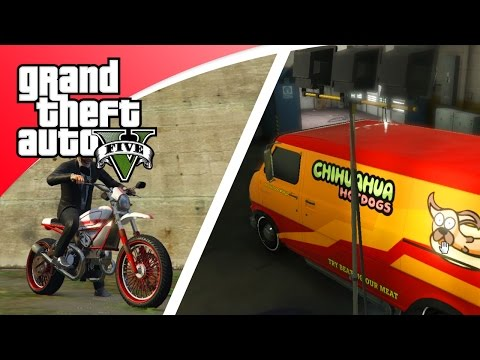 GTA V Freeroam - NIEUWE MOTOR EN BUS UPDATE! (GTA 5 Online)
