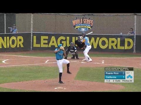 Junior League World Series 2019 Championship Highlights   Puerto Rico vs California