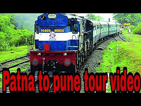 PUNE TO PATNA | PUNE - PATNA : A JOURNEY BY TRAIN | PUNE PATNA TRAIN EXPERIENCE | TRAVEL BLOG 2018