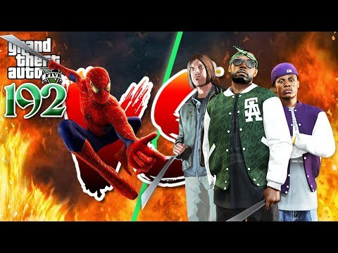 Spiderman VS Gangsters (Machete) - កាប់កាំបិតខ្លី​ - GTA 5 Redux Real Life Ep192 Khmer|VPROGAME