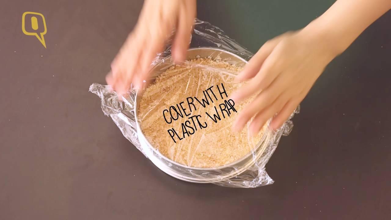 No Bake Eggless Gulab Jamun Cheesecake Recipe