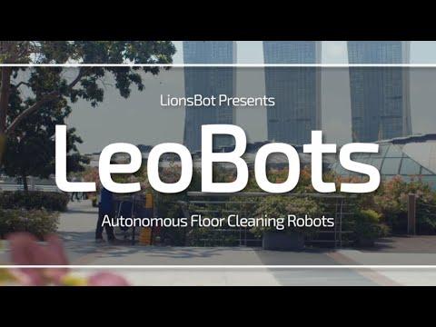 Industrial Floor Cleaning Robot