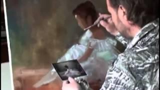 Видеоуроки Игоря Сахарова Рисуем балеринку оригинал