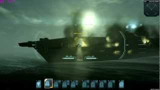 Carrier Command: Gaea mission Play & Contribute BETA Enemy Carrier Ownage