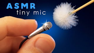 ASMR tiny mics but HUGE TINGLES | Triggers with the Iconic Mini Mics