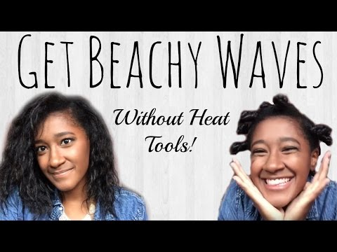 Get Beachy Waves Without Heat Tools | BeingDaphne