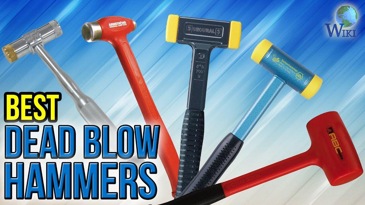 9 Best Dead Blow Hammers 2017 Youtube Steel shot inside head eliminates rebound, conserving energy of each blow. 9 best dead blow hammers 2017