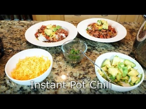 Instant Pot Chili With Dry Beans