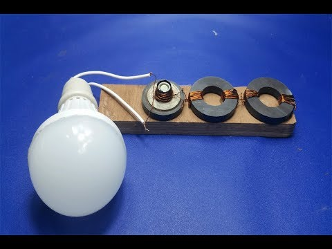 Free Energy Light Bulbs  Using Magnet thumbnail