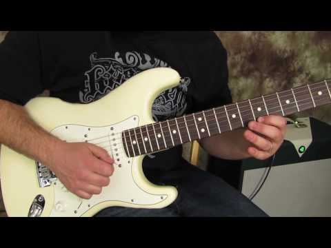 Rock and Blues Guitar Solo Lessons - Sweep Arpeggios for blues, jazz, rock