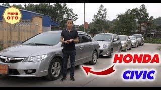Honda CIVIC...Rất Khó Để tìm Được Một Chiếc Xế Hộp Số Tự Động Đẹp,Chất Như Thế - Mạnh Ô Tô
