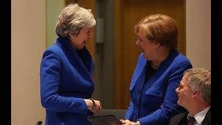 Theresa May's defiant body language at the EU summit