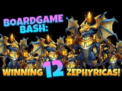 I Won 12 Zephyricas At ONCE INSANE Event! Castle Clash