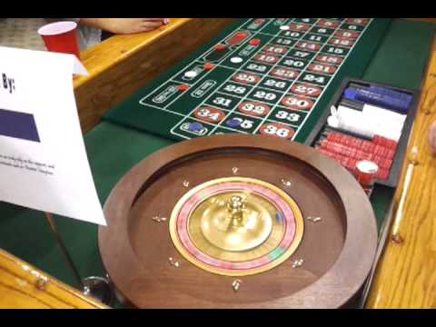 Holiday Office Party Roulette Wheel And Casino Party Table Rentals In Michigan, Ohio, Indiana