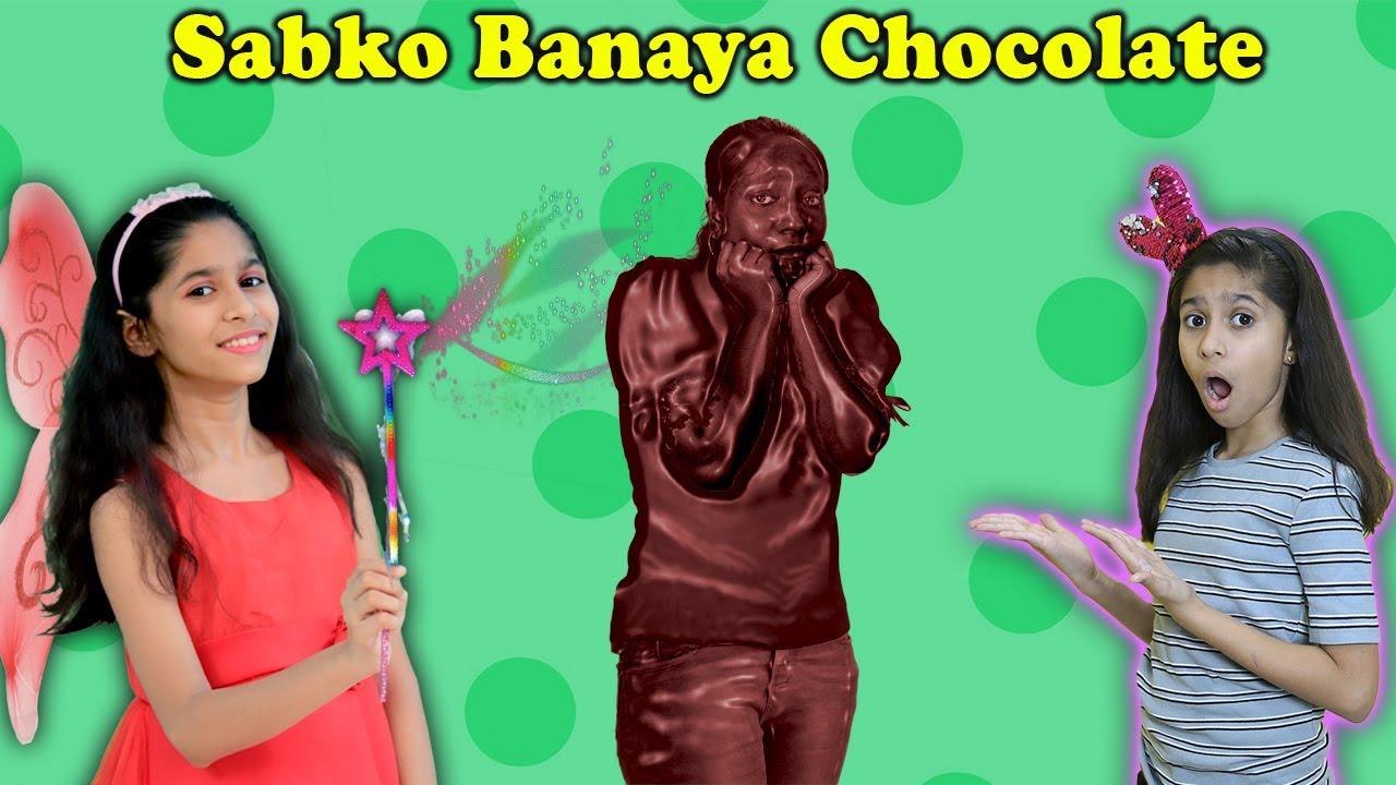 Magic Se Sab Ban Gaye Chocolate | Magical Story  | Pari's Lifestyle