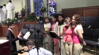 ALELUYA CRISTO RESUCITÓ - CORO DE JÓVENES, IGLESIA CATÓLICA DE HOLY REDEEMER, KISSIMMEE, FL