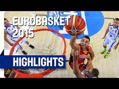 Estonia v Belgium - Group D - Game Highlights - EuroBasket 2015