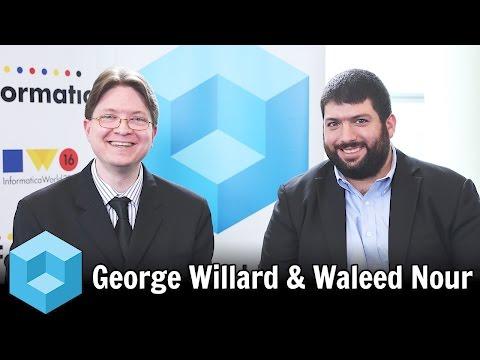 George Willard & Waleed Nour, Jewelry Television - #infa16 - #theCUBE