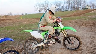 Cant Beat That KX125 SOUND!!!